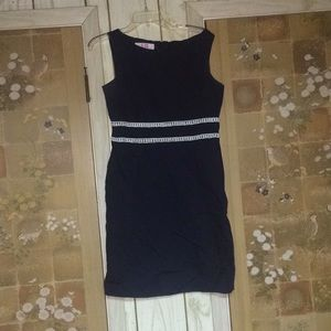 Navy Pencil Dress